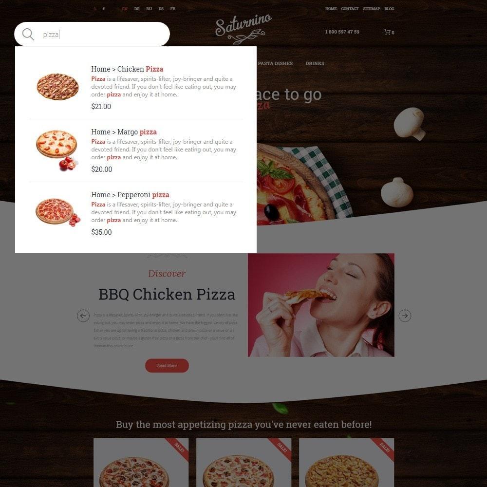 theme - Gastronomía y Restauración - Tema de PrestaShop para Sitio de Pizzerías - 6