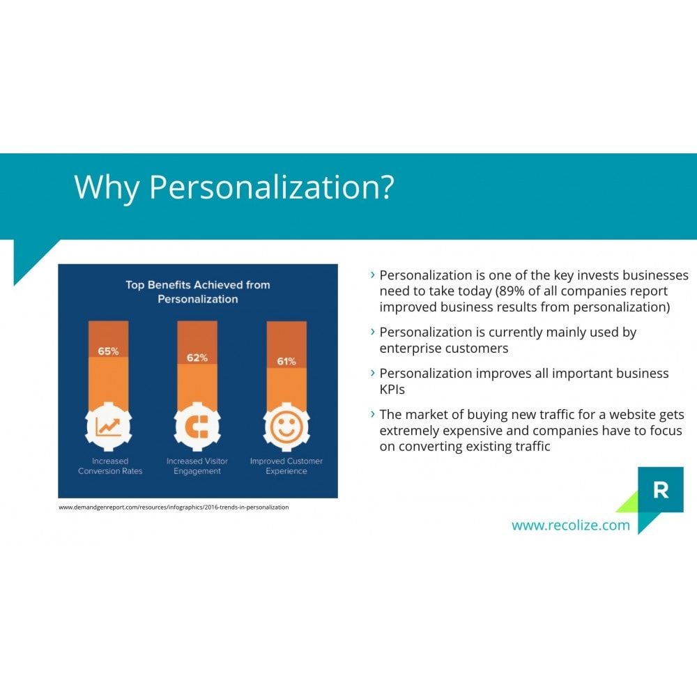 module - Remarketing & Achtergelaten winkelmanden - Recolize - The Plug & Play Personalization - 5