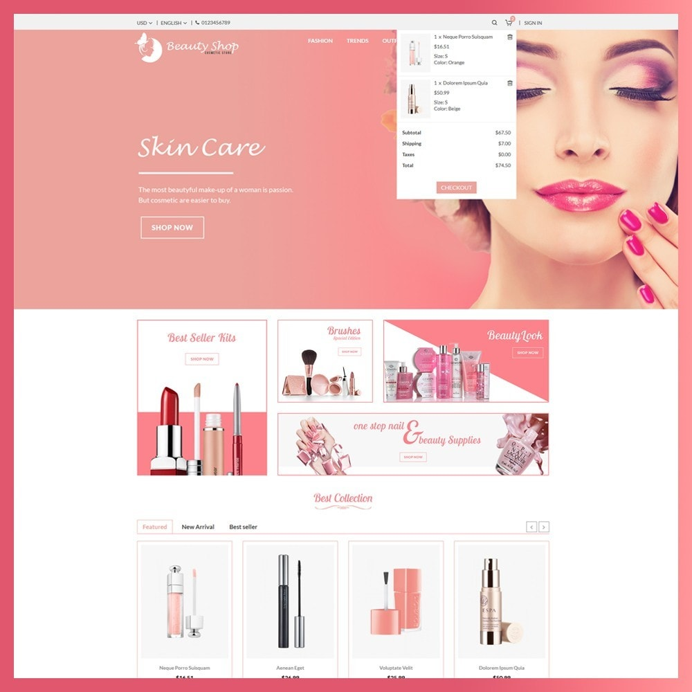 theme - Salud y Belleza - Beauty Cosmetic store - 6