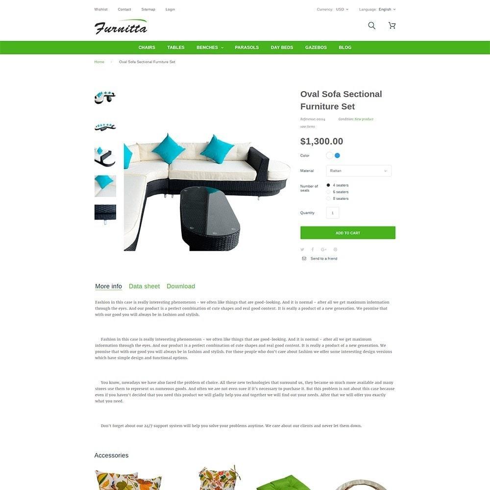 theme - Maison & Jardin - Furnitta - Mobilier d'extérieur thème PrestaShop - 7