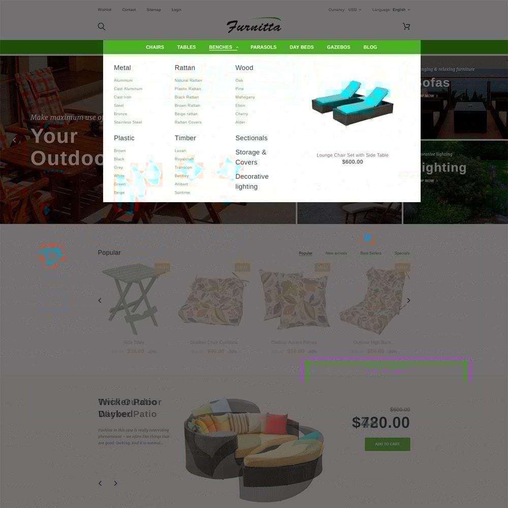 theme - Hogar y Jardín - Tema de PrestaShop para Sitio de Muebles - 5