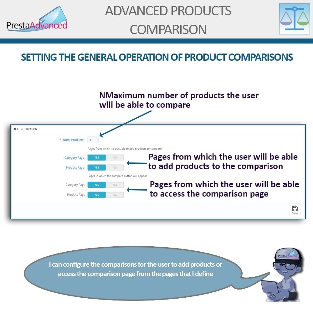 module - Comparatori di prezzi - Advanced Product Comparison - 3