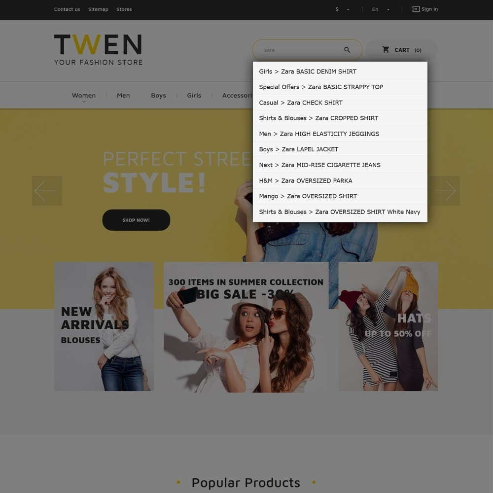 theme - Mode & Schuhe - Twen - Fashion Store Responsive - 6
