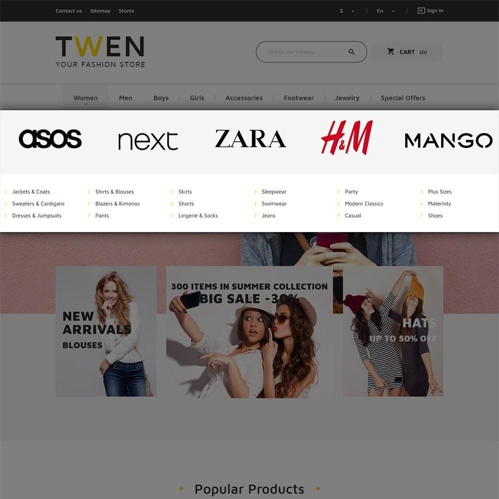 theme - Moda y Calzado - Twen - Tema de PrestaShop para Sitio de Tienda de Ropa - 5