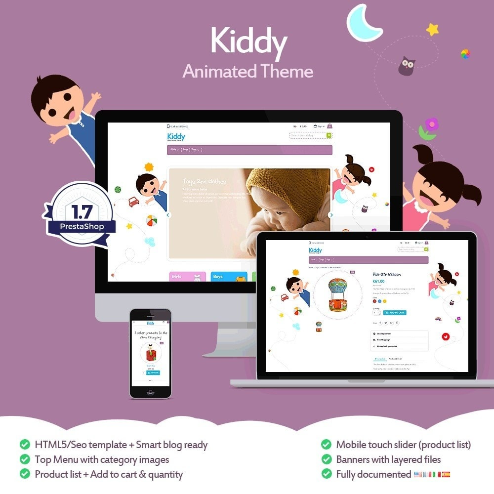 Kiddy - Children's Store