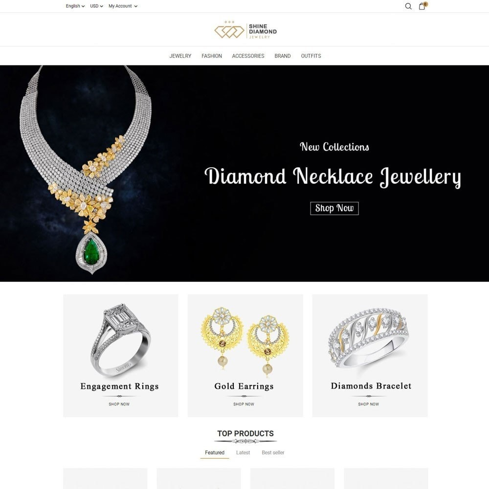 Shine Diamond Jewelry Store