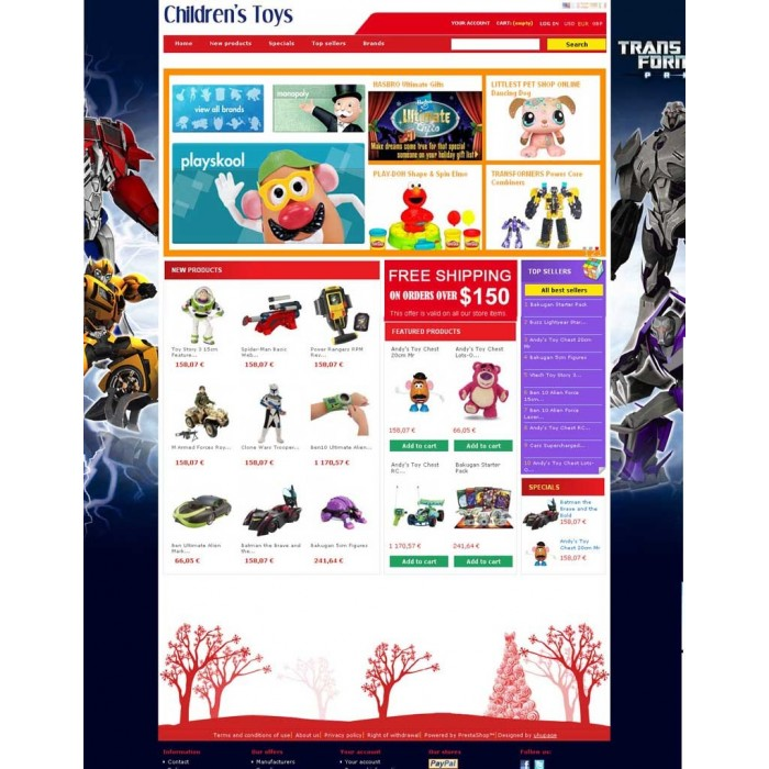 theme - Children & Kids - UHUpage PS126 - 1