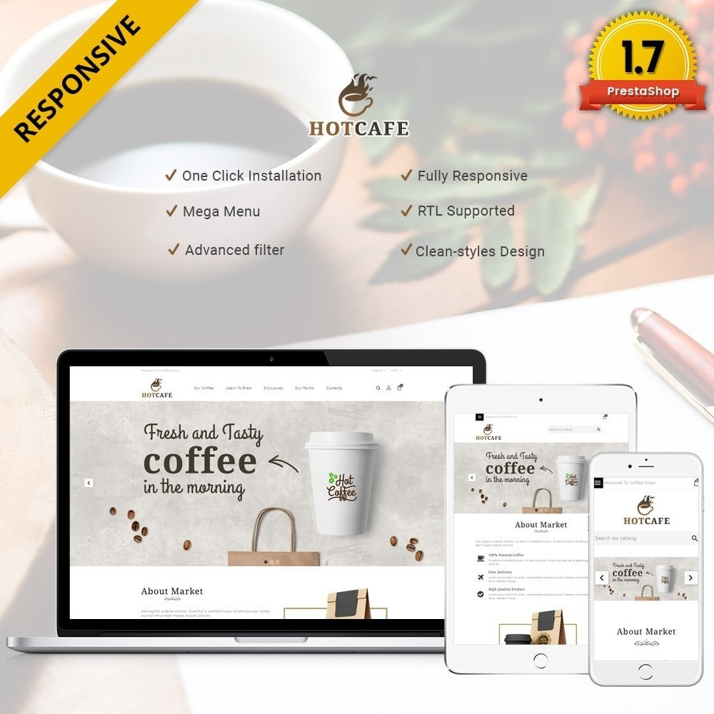 Hotcafe coffee store