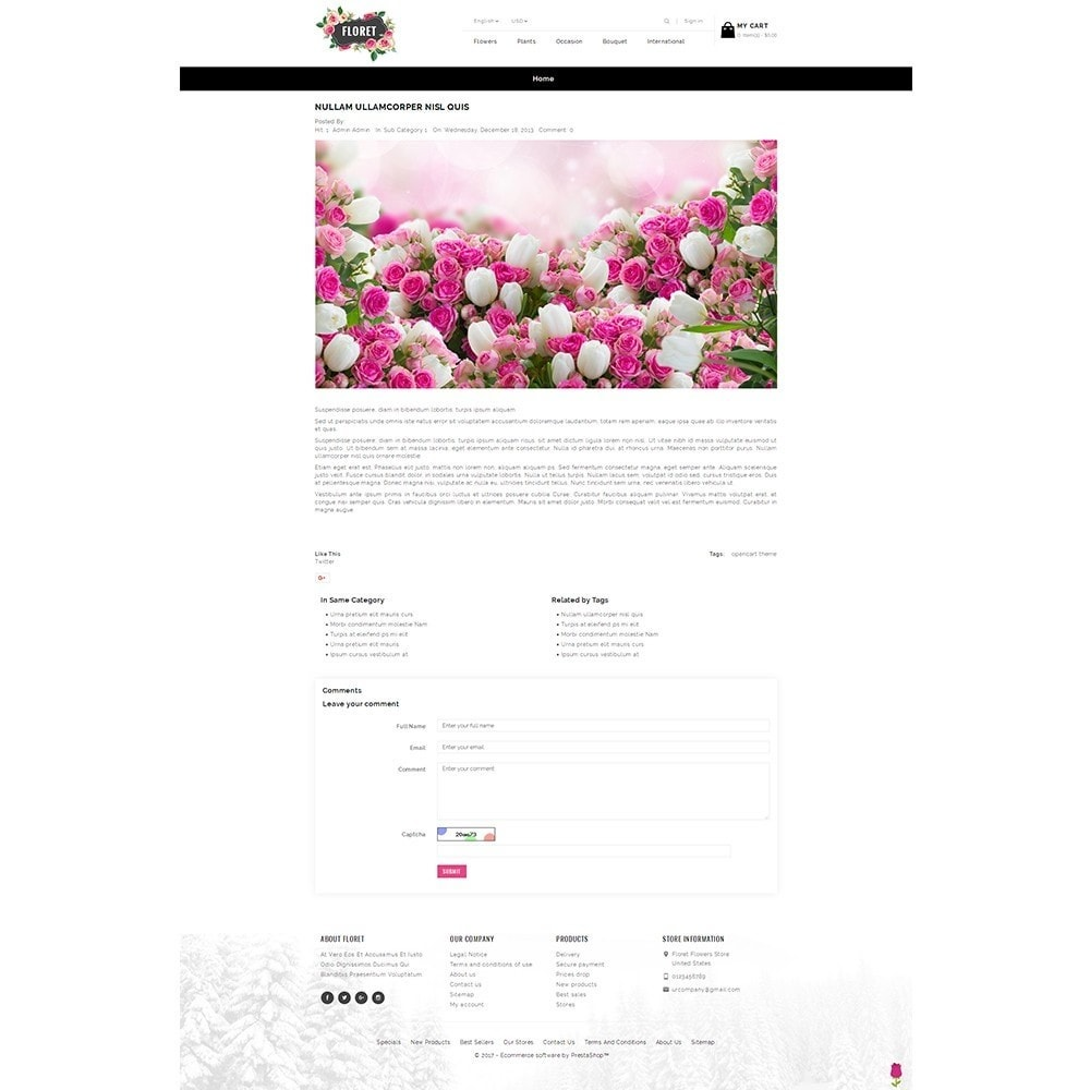 theme - Gifts, Flowers & Celebrations - Floret Flower Store - 8