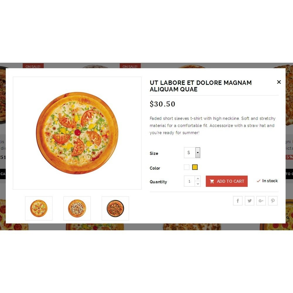 theme - Продовольствие и рестораны - Pizza Plants Store - 7