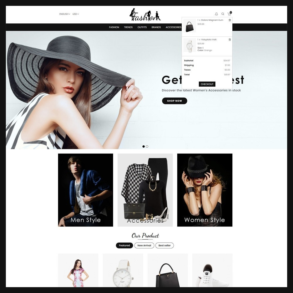 theme - Moda & Calzature - Fashion Store - 6