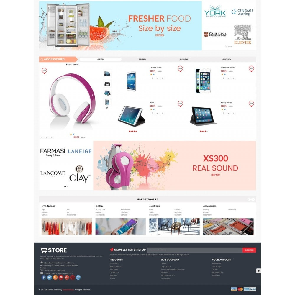 theme - Elettronica & High Tech - Electronic And Computer Estore - 5