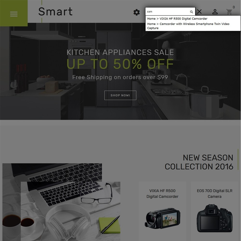 theme - Electronics & Computers - Smart - Gadgets & Electronics PrestaShop 1.7 Theme - 5