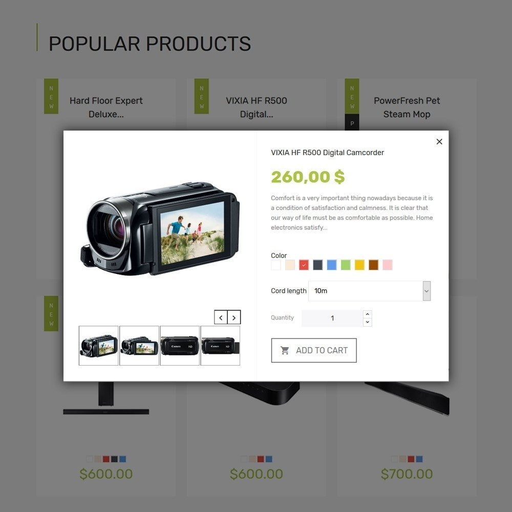 theme - Electronics & Computers - Smart - Gadgets & Electronics PrestaShop 1.7 Theme - 6