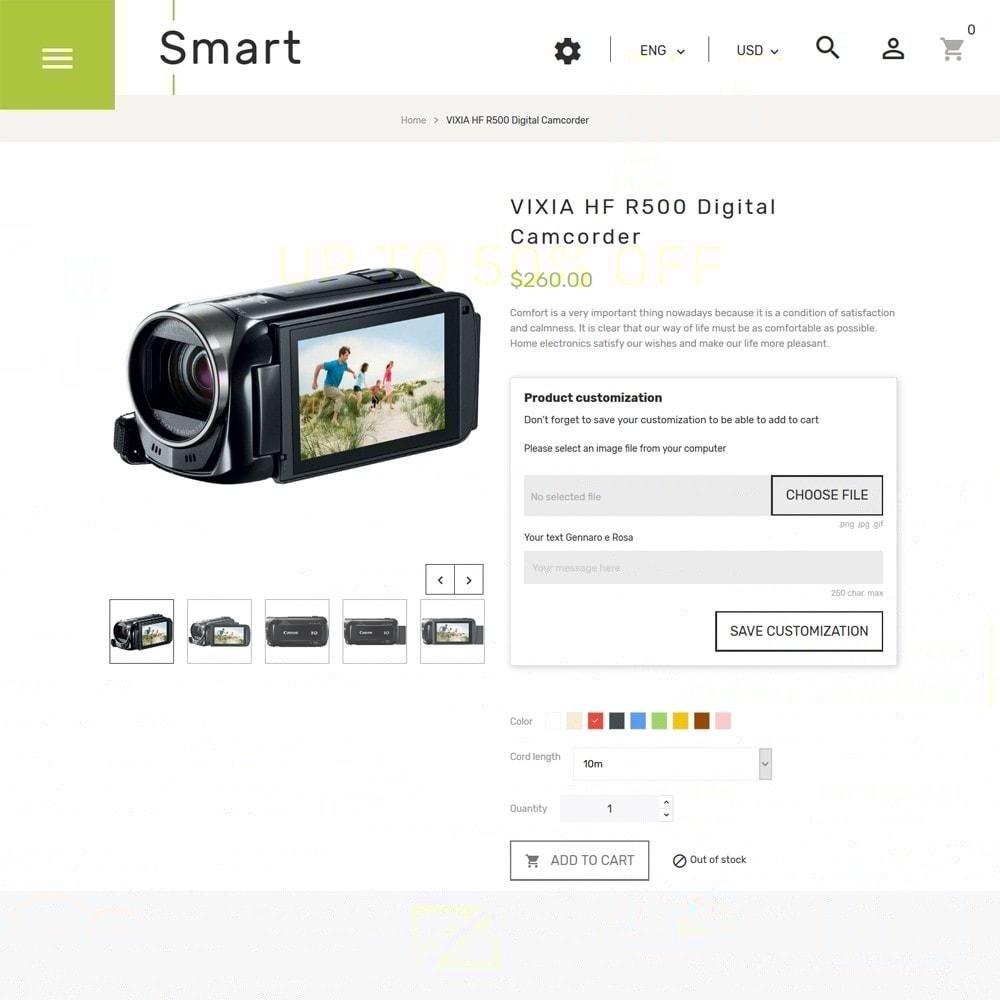 theme - Electrónica e High Tech - Smart - Sitio de Tienda de Electrónica - 4