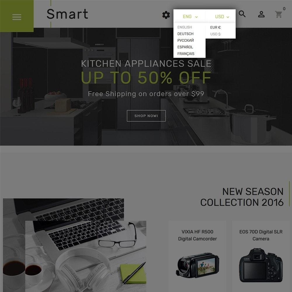 theme - Electrónica e High Tech - Smart - Sitio de Tienda de Electrónica - 5