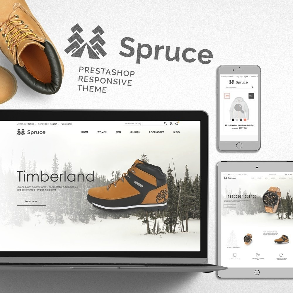 theme - Sports, Activities & Travel - Spruce - 1