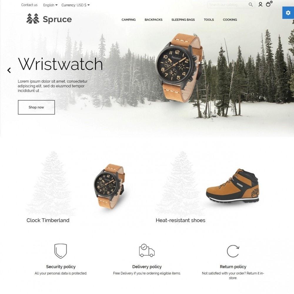 theme - Спорт и Путешествия - Spruce - 2