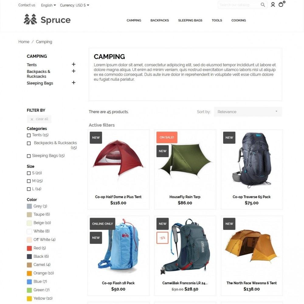 theme - Sport, Attività & Viaggi - Spruce - 5