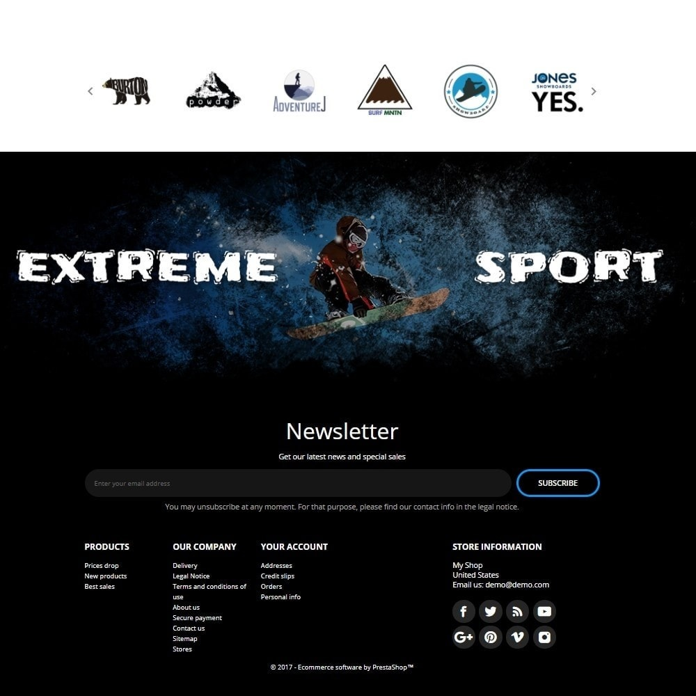 theme - Sport, Loisirs & Voyage - Blue Mountain - Active Sport - 4