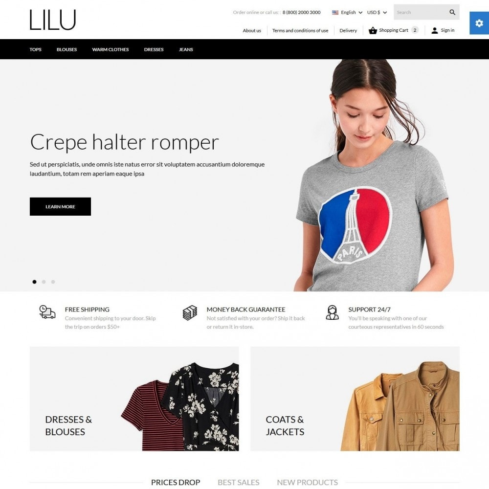 theme - Mode & Schoenen - Lilu Fashion Store - 2