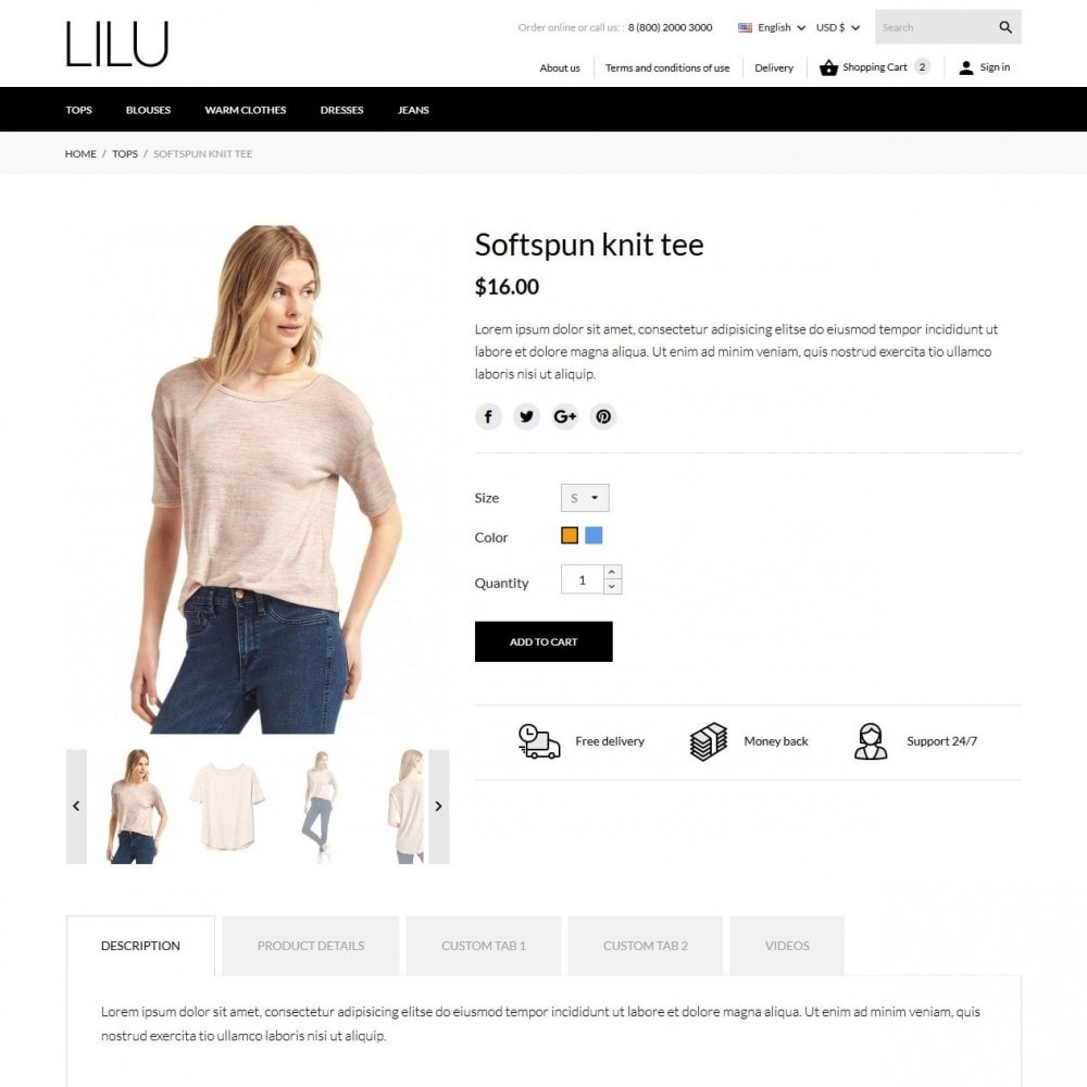 theme - Mode & Schuhe - Lilu Fashion Store - 7