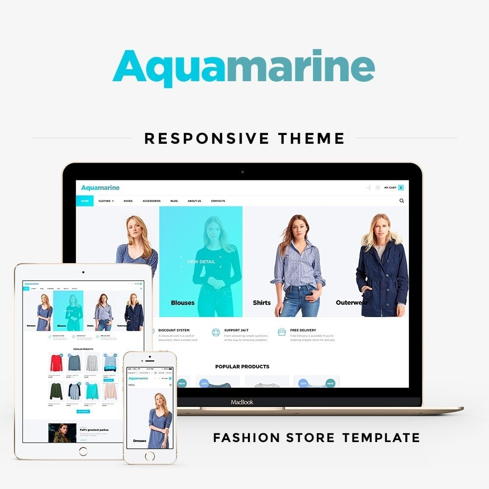 Aquamarine Fashion Store
