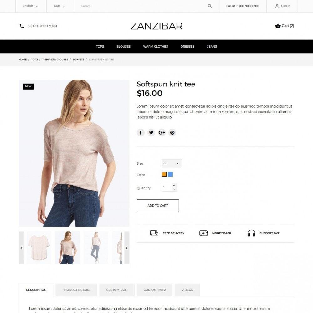 theme - Мода и обувь - Zanzibar Fashion Store - 6