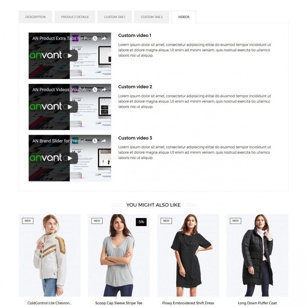 theme - Мода и обувь - Zanzibar Fashion Store - 9