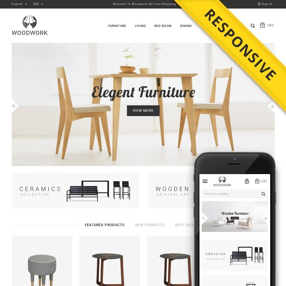 WoodWork - Furniture Store