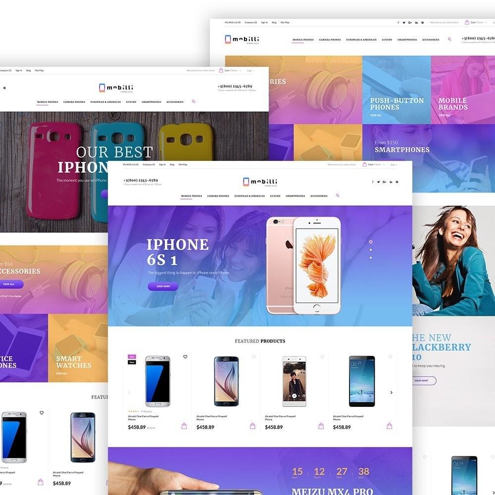 Mobilli - Téléphones portables et accessoires thème