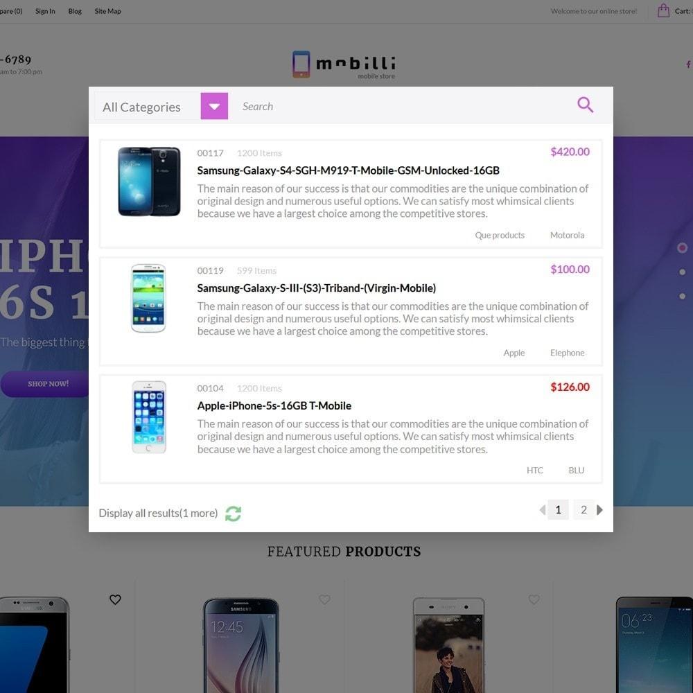 theme - Electronique & High Tech - Mobilli - Téléphones portables et accessoires thème - 3