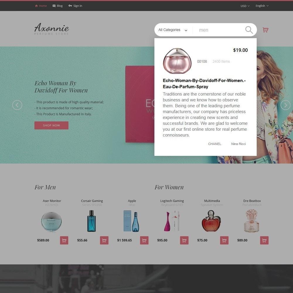 theme - Moda y Calzado - Axonnie - Tema para Sitio de Tienda de Cosméticos - 4