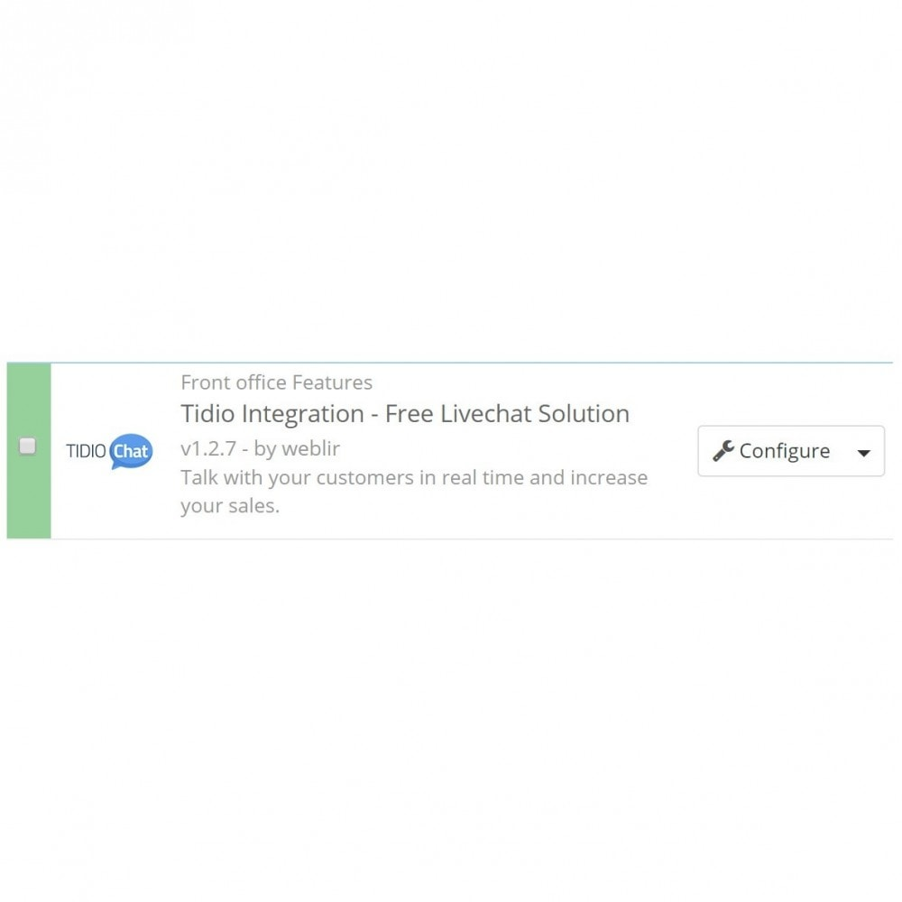 module - Support & Chat Online - Tidio Integration - Free Livechat Solution - 2