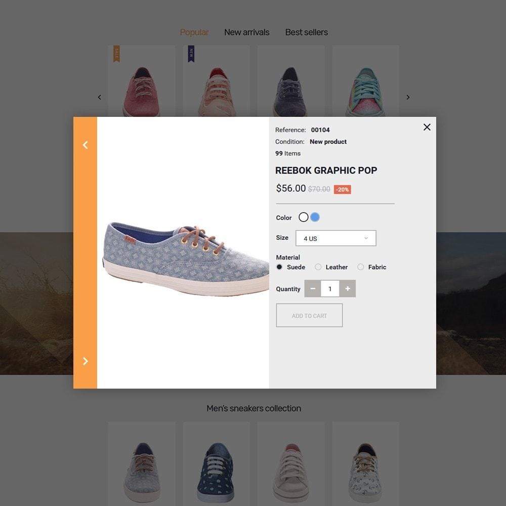 theme - Мода и обувь - Footmen - Адаптивный PrestaShop шаблон магазина обуви - 4