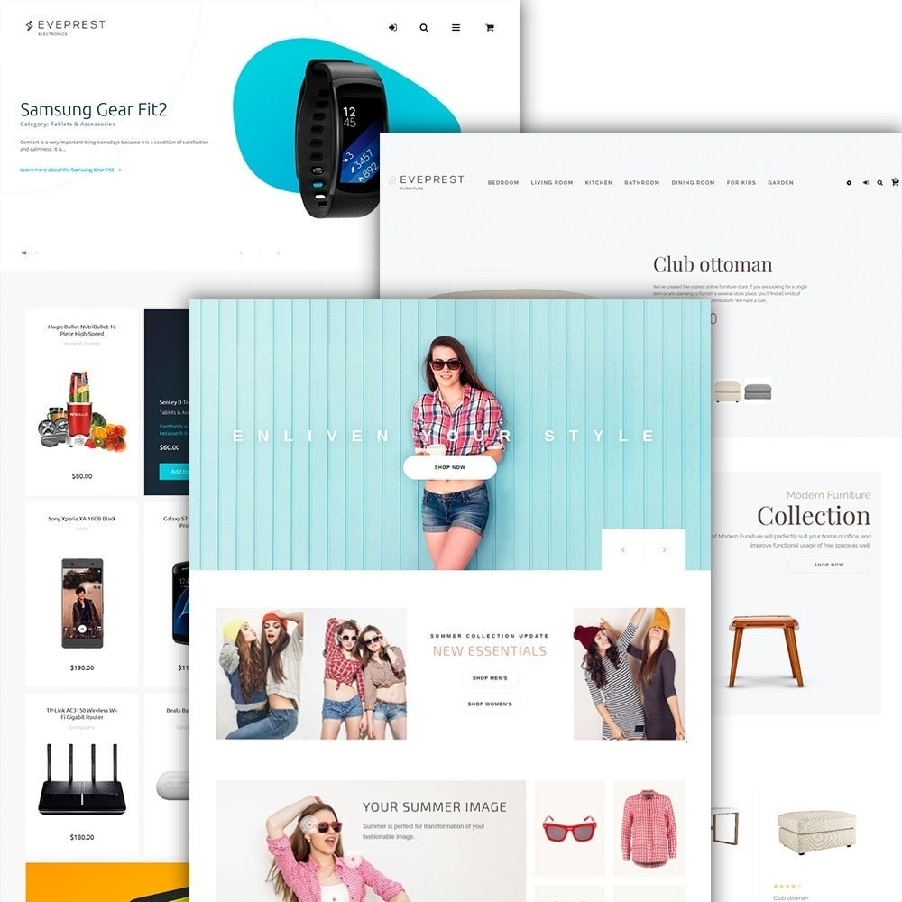 theme - Mode & Schoenen - Eveprest - Multipurpose PrestaShop Theme - 3