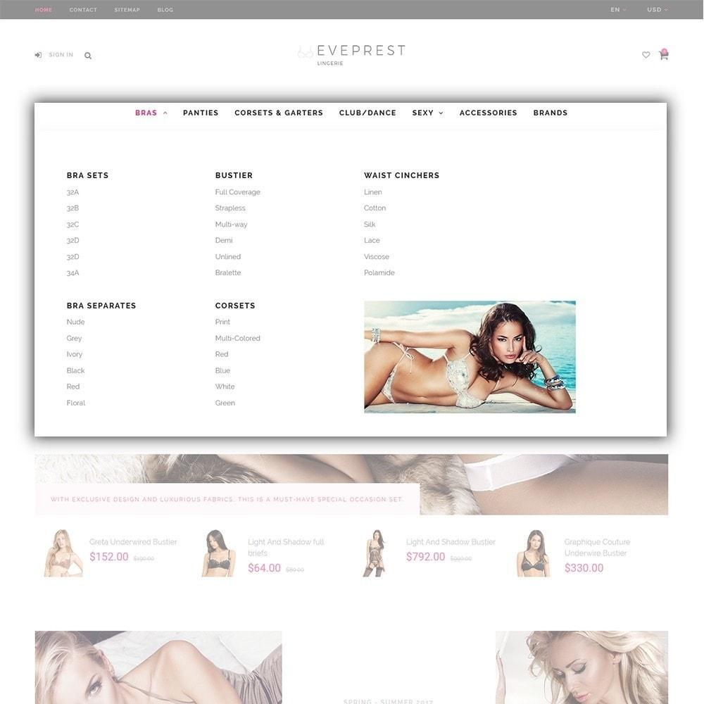 theme - Moda & Calzature - Eveprest - Tema multipurpose PrestaShop - 5