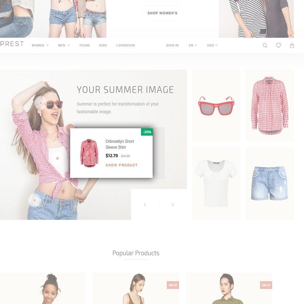 theme - Moda & Calzature - Eveprest - Tema multipurpose PrestaShop - 8