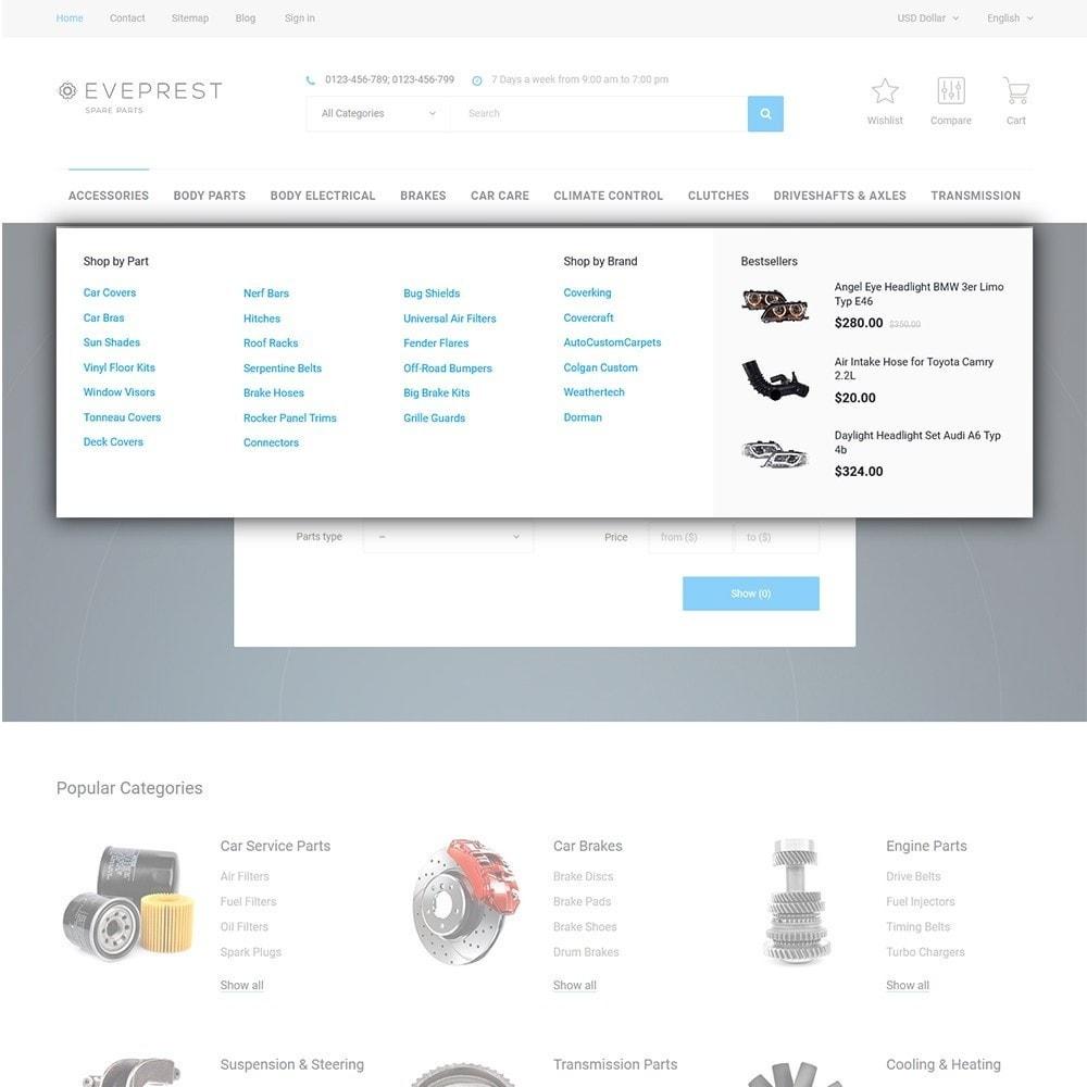 theme - Moda & Calzature - Eveprest - Tema multipurpose PrestaShop - 9