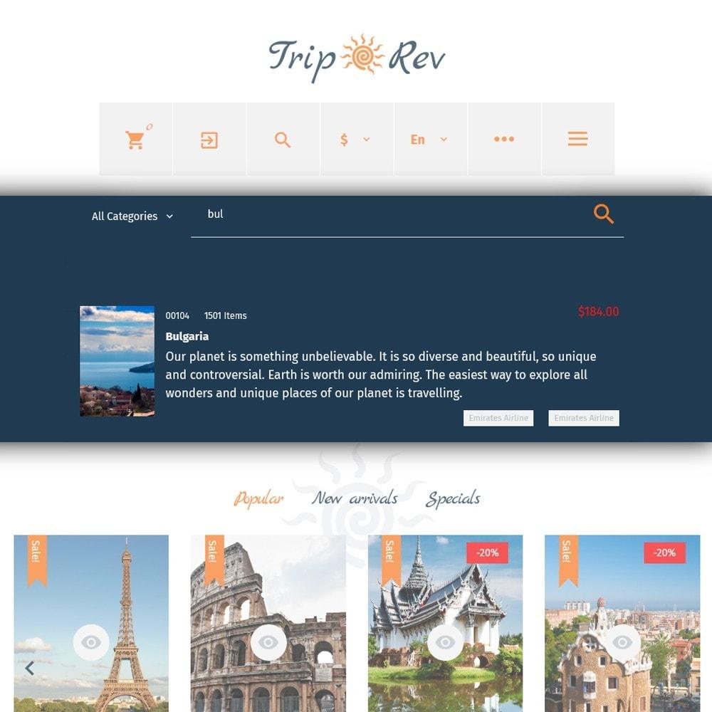 theme - Sport, Rozrywka & Podróże - TripRev - Travel Responsive PrestaShop Theme - 5