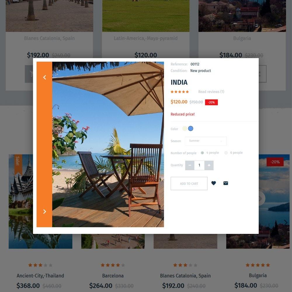 TripRev - Tema de PrestaShop para Sitio de Viajes