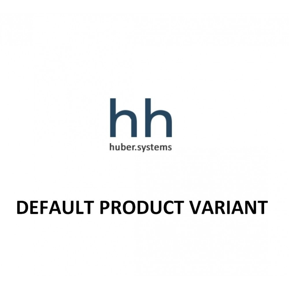 module - Versies & Personalisering van producten - Default Product Variant (Combination) - 1