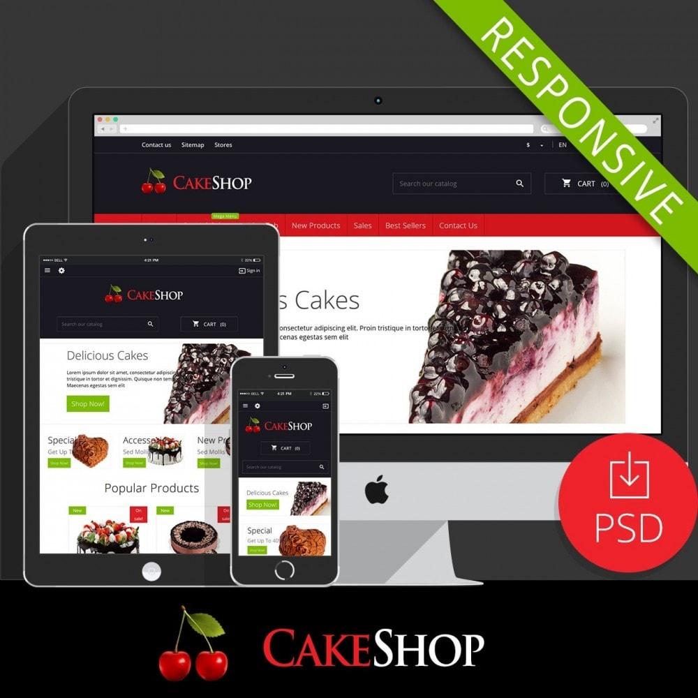 theme - Żywność & Restauracje - CakeShop - 1