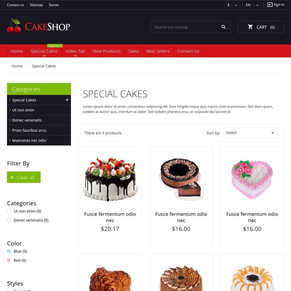 theme - Żywność & Restauracje - CakeShop - 6