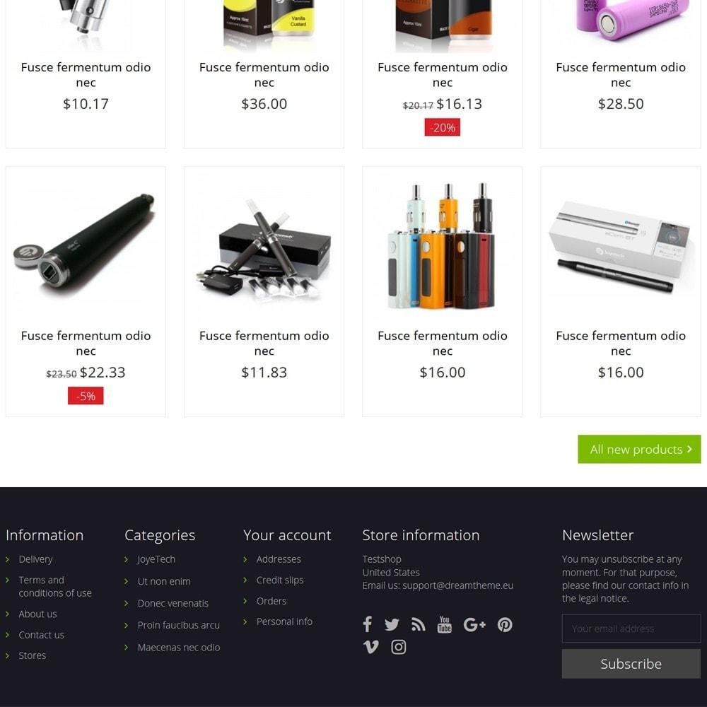 theme - Napoje & Wyroby tytoniowe - e-Cig Shop - 4