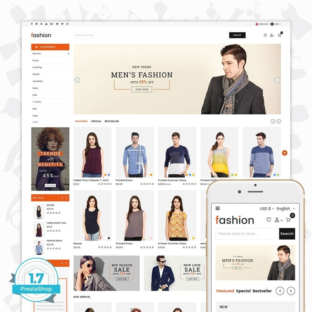 theme - Moda & Calzature - Fashion Store - 1