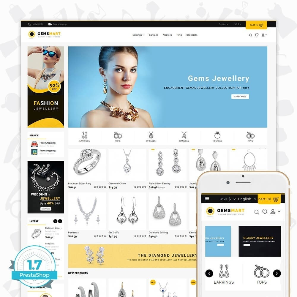 theme - Sieraden & Accessoires - Gemsmart - The Diamond Jewellery Store - 1