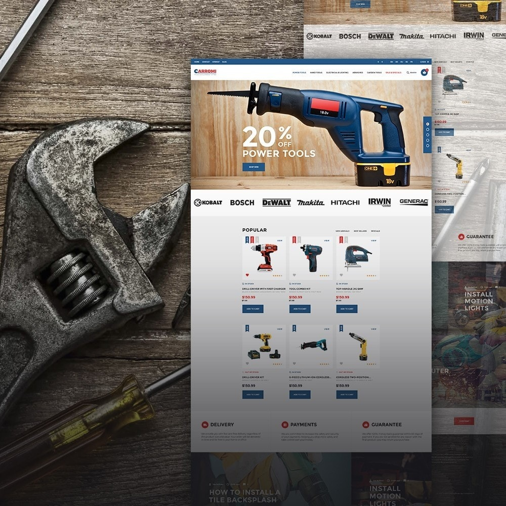 theme - Home & Garden - Carromi - 1