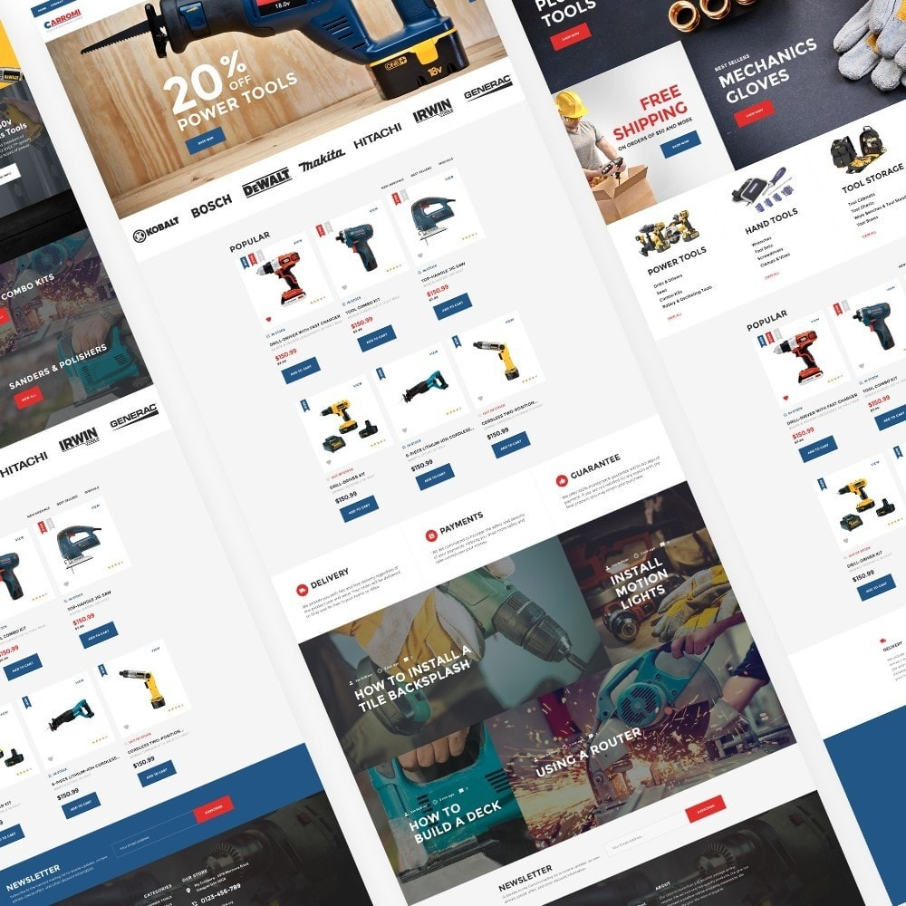 theme - Home & Garden - Carromi - 2
