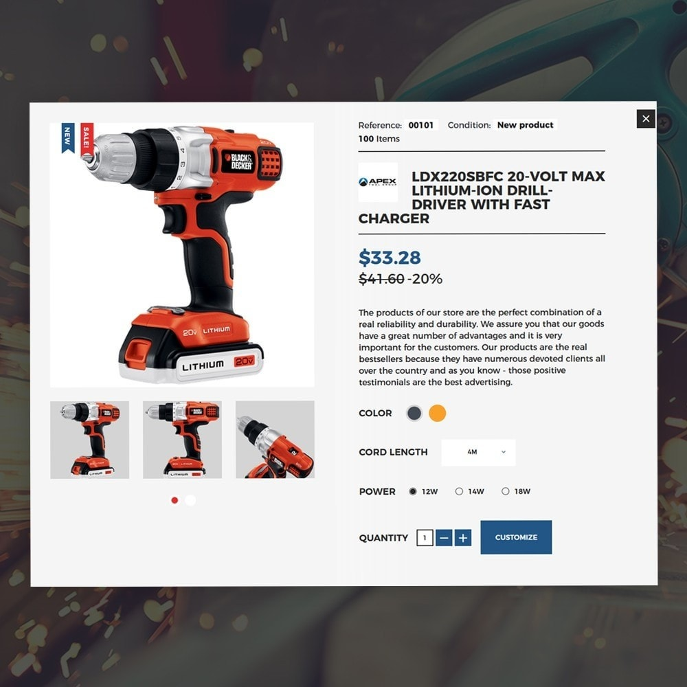 theme - Home & Garden - Carromi - 5